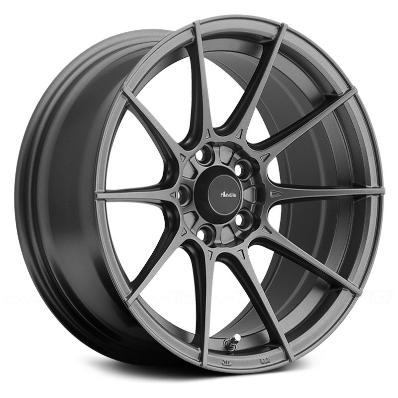 Advanti Racing Storm S1 Wheel 15x7 35 4x100 73 1 Gray Single