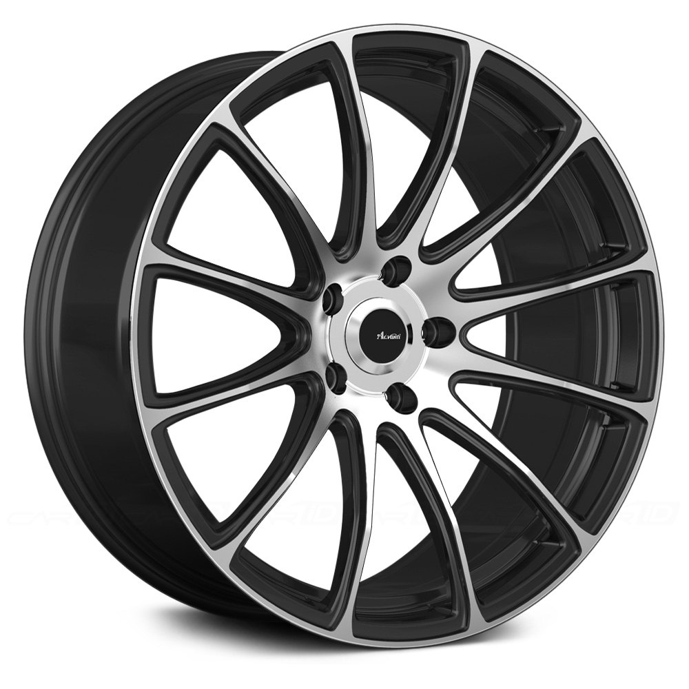 advanti racing svelto wheels matte black with machined. Black Bedroom Furniture Sets. Home Design Ideas