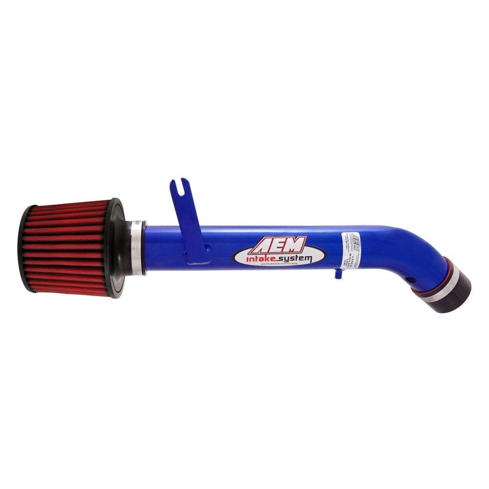 Aem Short Ram Intake: Aluminum Blue Short Ram Air Intake System
