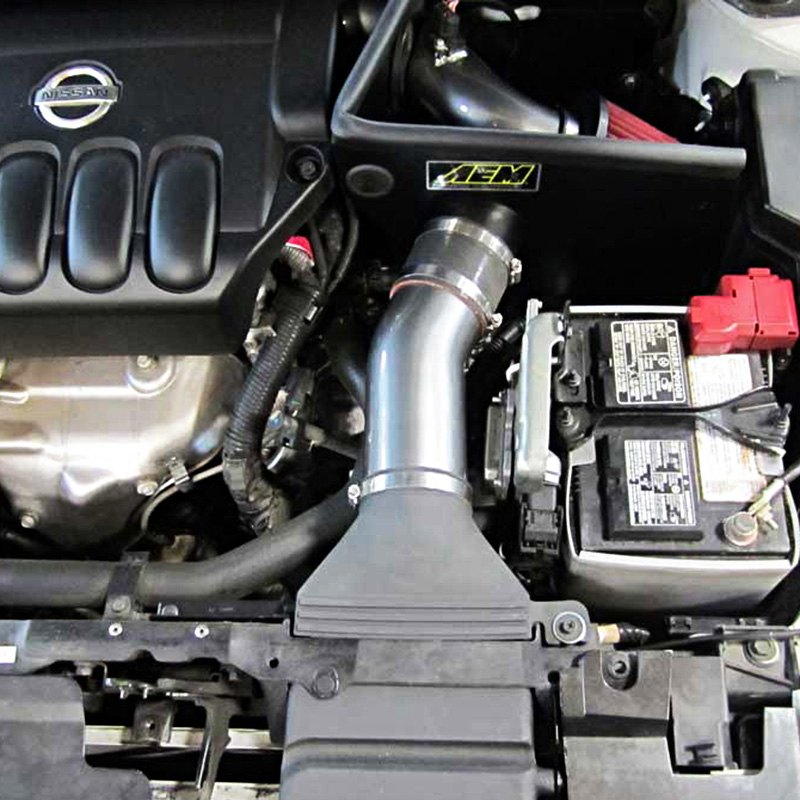 aem nissan altima coupe 2 5l 2013 electronically tuned air intake system. Black Bedroom Furniture Sets. Home Design Ideas
