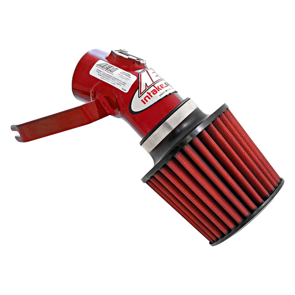 Aluminum Red Cold Air Intake System With: Chevy Cobalt 2006 Aluminum Cold Air Intake System