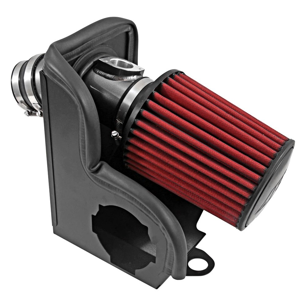 Aluminum Red Cold Air Intake System With: Mazda 6 2.5L 2014-2016 Aluminum Gunmetal Gray Cold