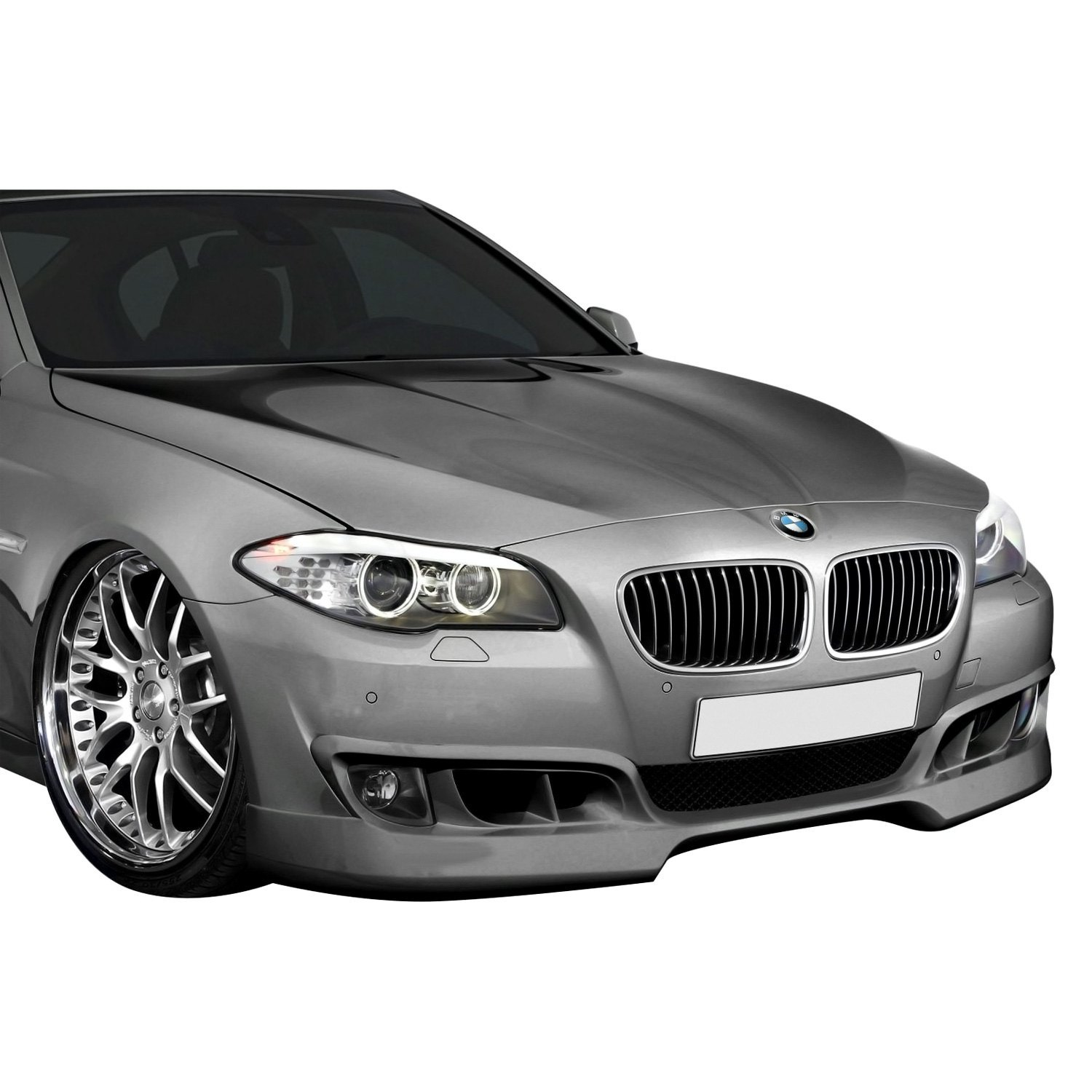 For BMW 528i 11 13 Aero Function AF 1 Style Front Add Spoiler