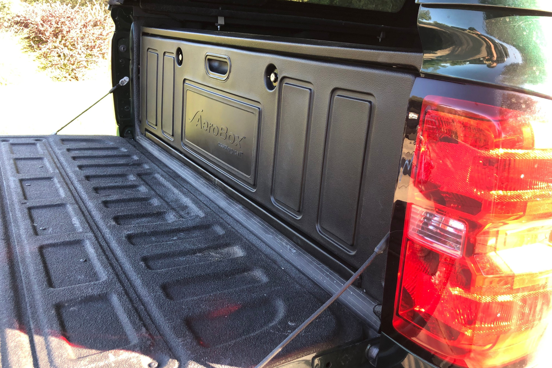 Aerobox Abua02 Premium Single Drop Door Rear Mounted Truck Bed Cargo Box