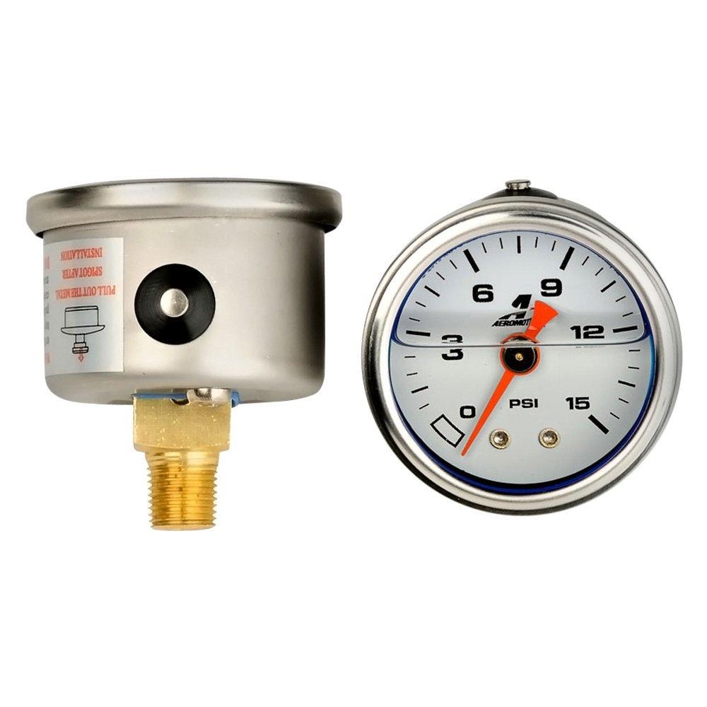 Aeromotive fuel pressure gauge psi