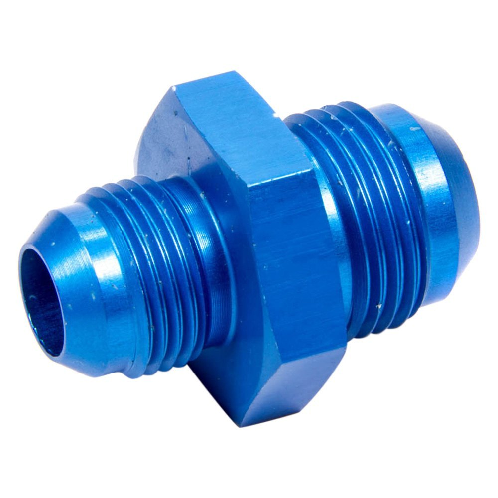 Aeroquip fbm blue anodized aluminum male an to