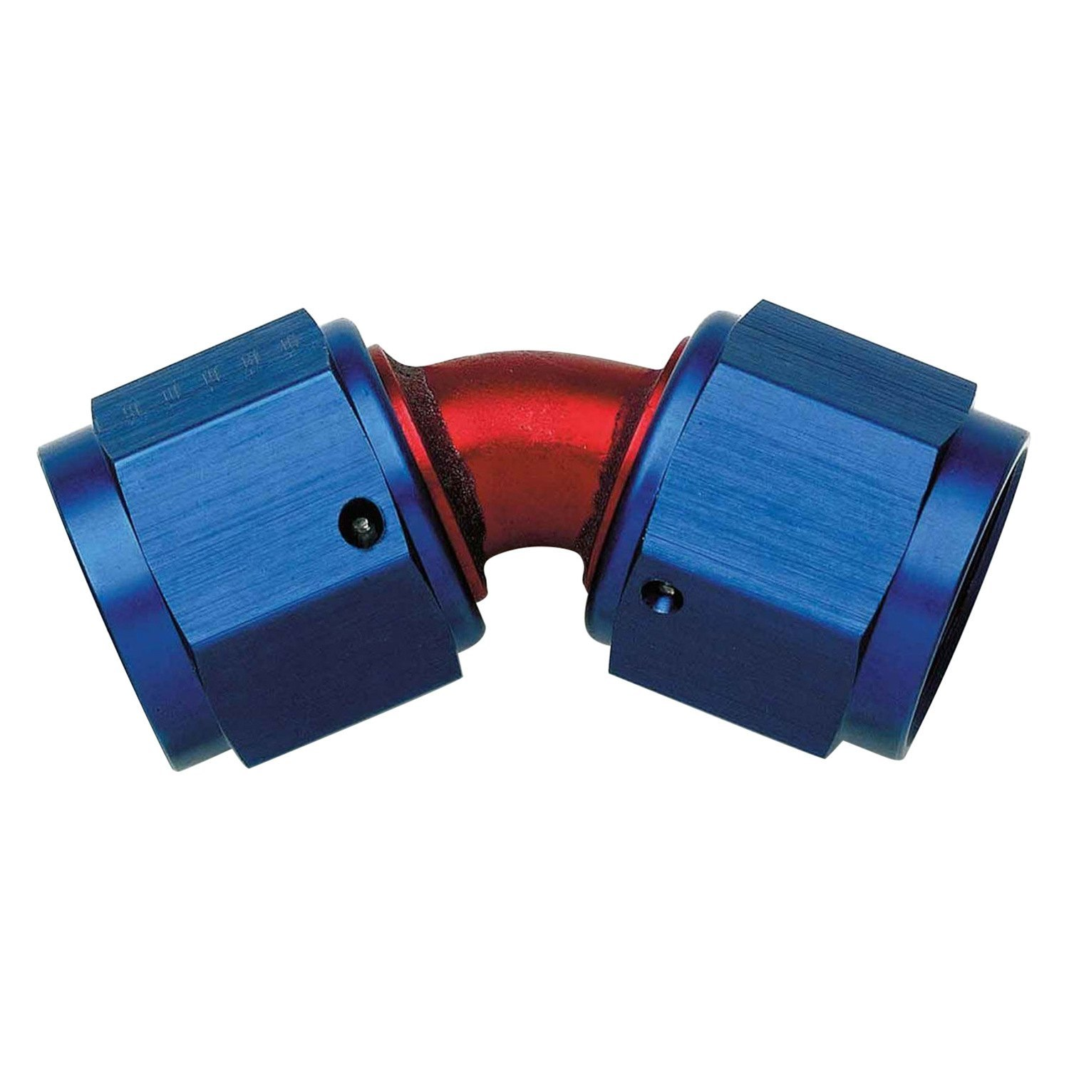 Aeroquip fbm red blue anodized an to female