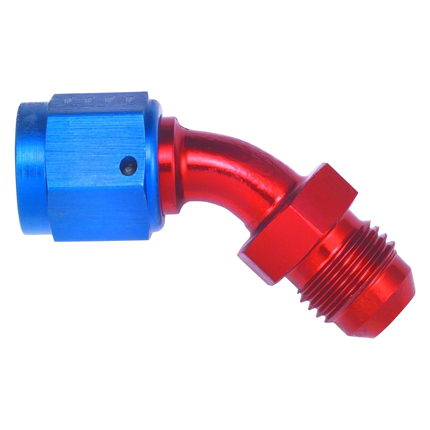 Aeroquip fbm red blue anodized male to female an