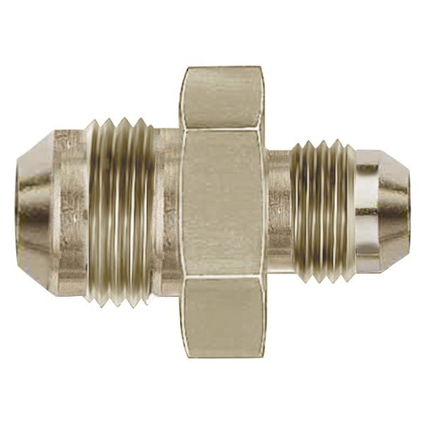 Aeroquip fce nickel plated male an flare to metric