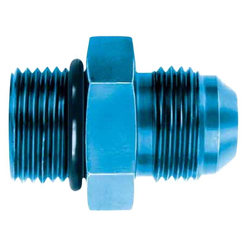 Aeroquip fcm blue anodized aluminum o ring an boss