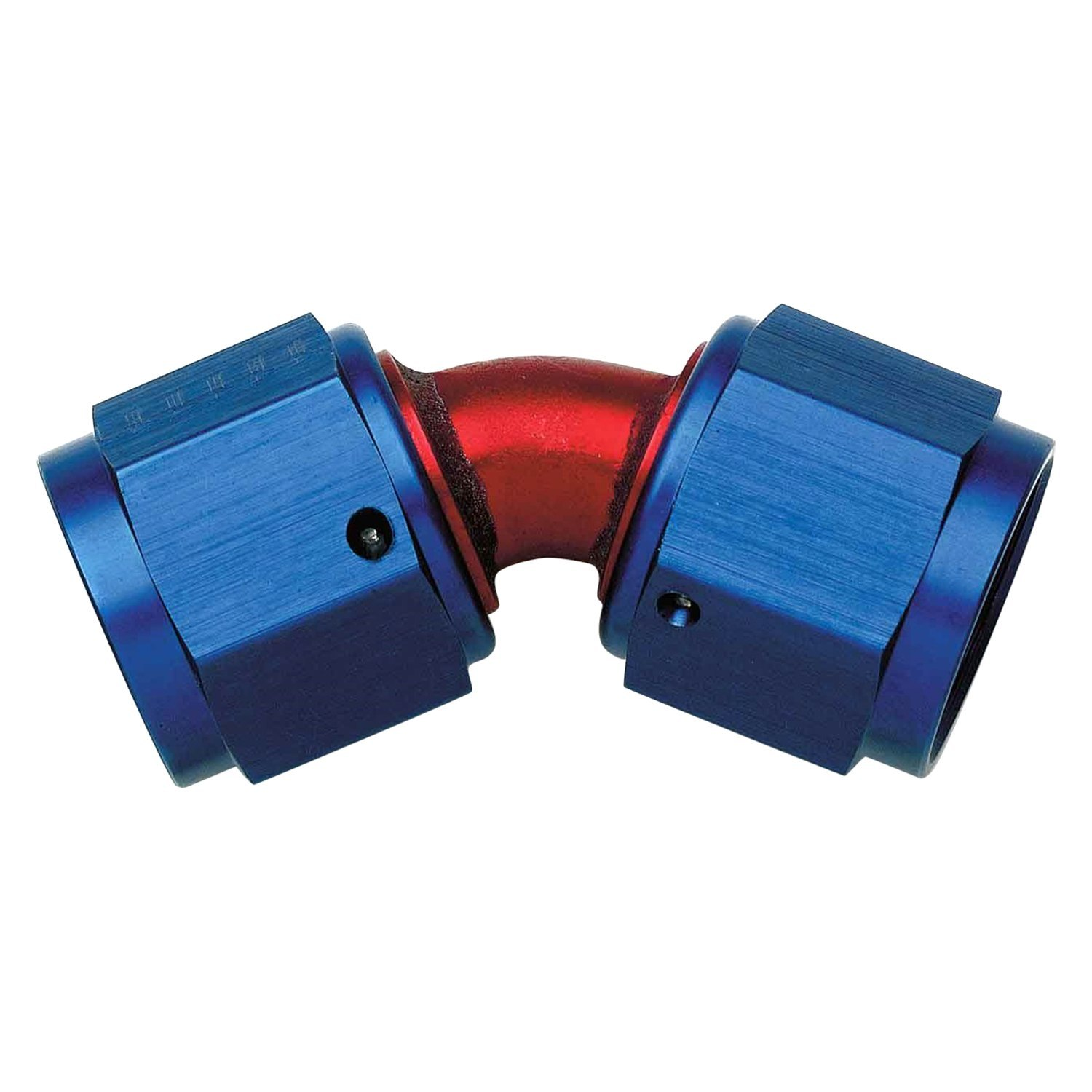 Aeroquip fcm red blue anodized an to female