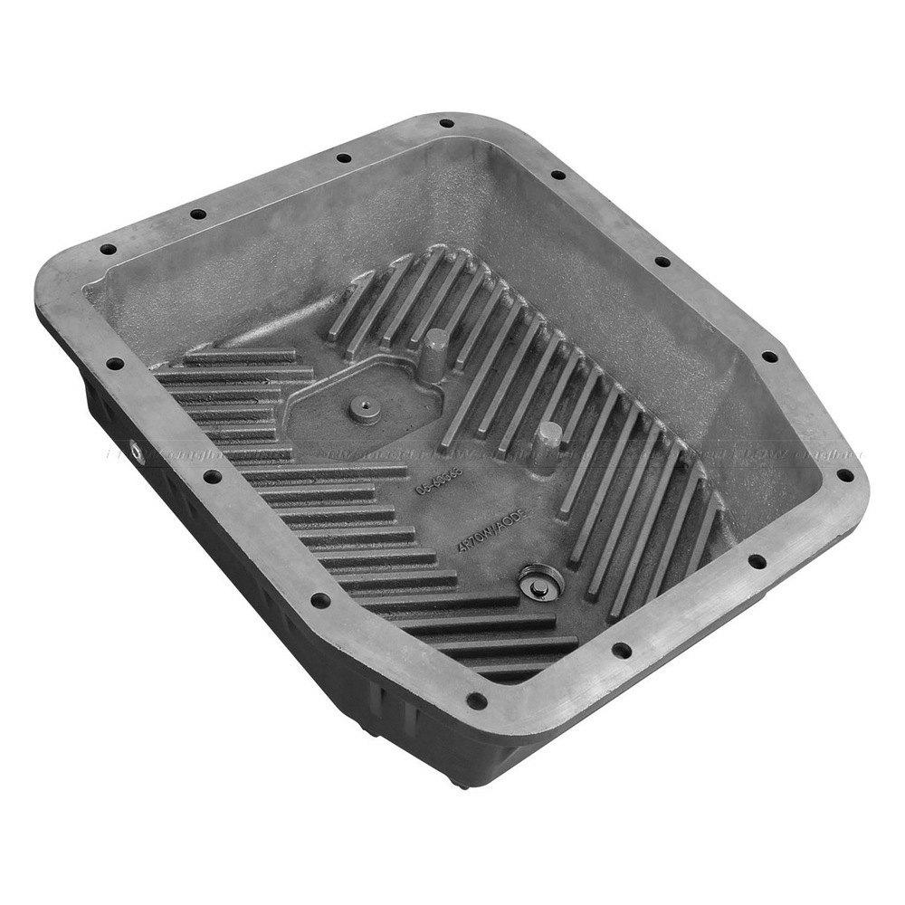 afe 46 70222 transmission pan with black fins ebay. Black Bedroom Furniture Sets. Home Design Ideas