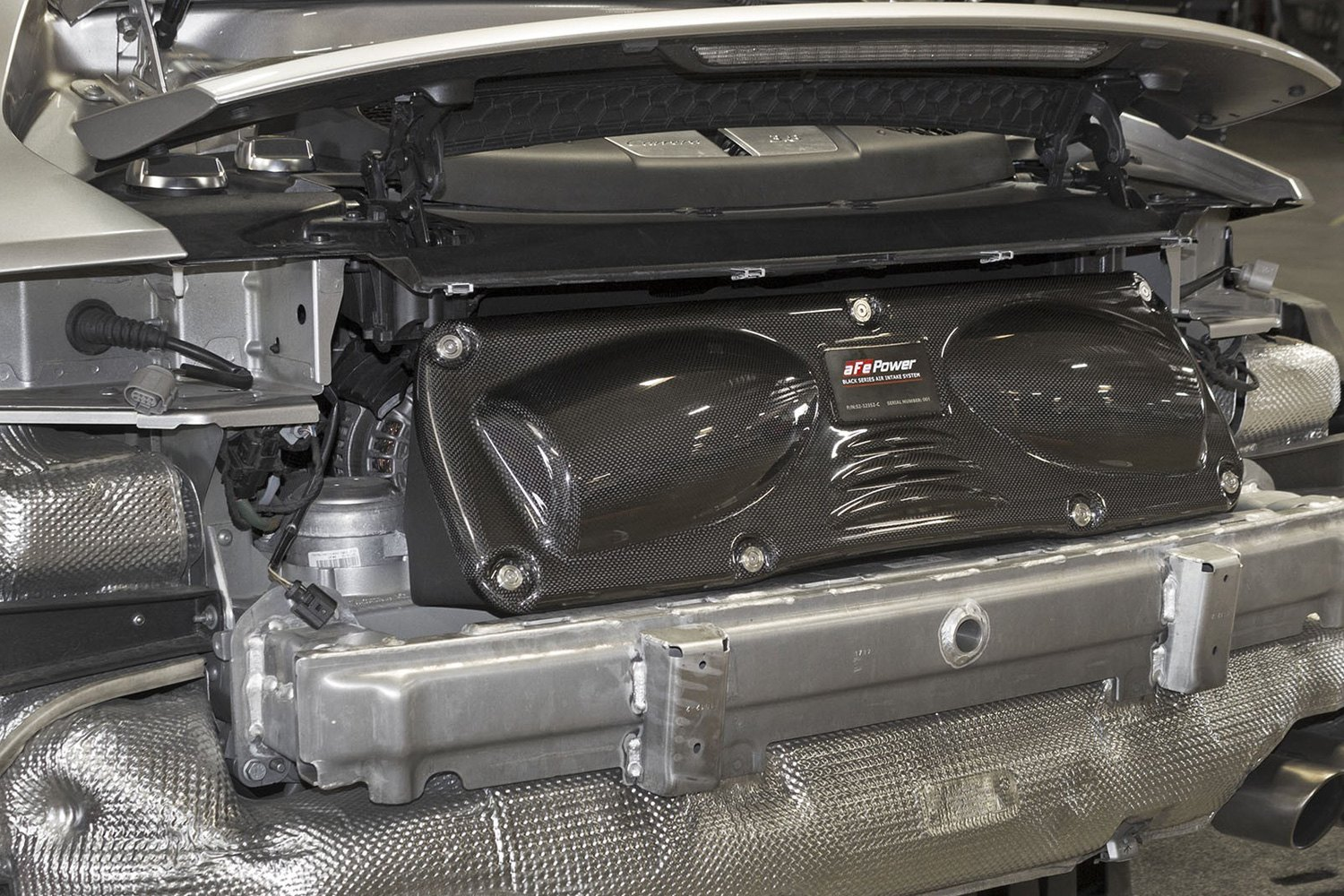 Afe Black Series Stage 2 Carbon Fiber Black Cold Air Intake System With Pro 5r And Pro Dry S Gray Filter