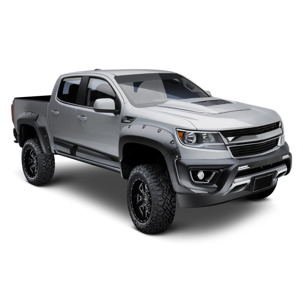 air design chevy colorado crew cab 2016 super rim full restyling kit. Black Bedroom Furniture Sets. Home Design Ideas