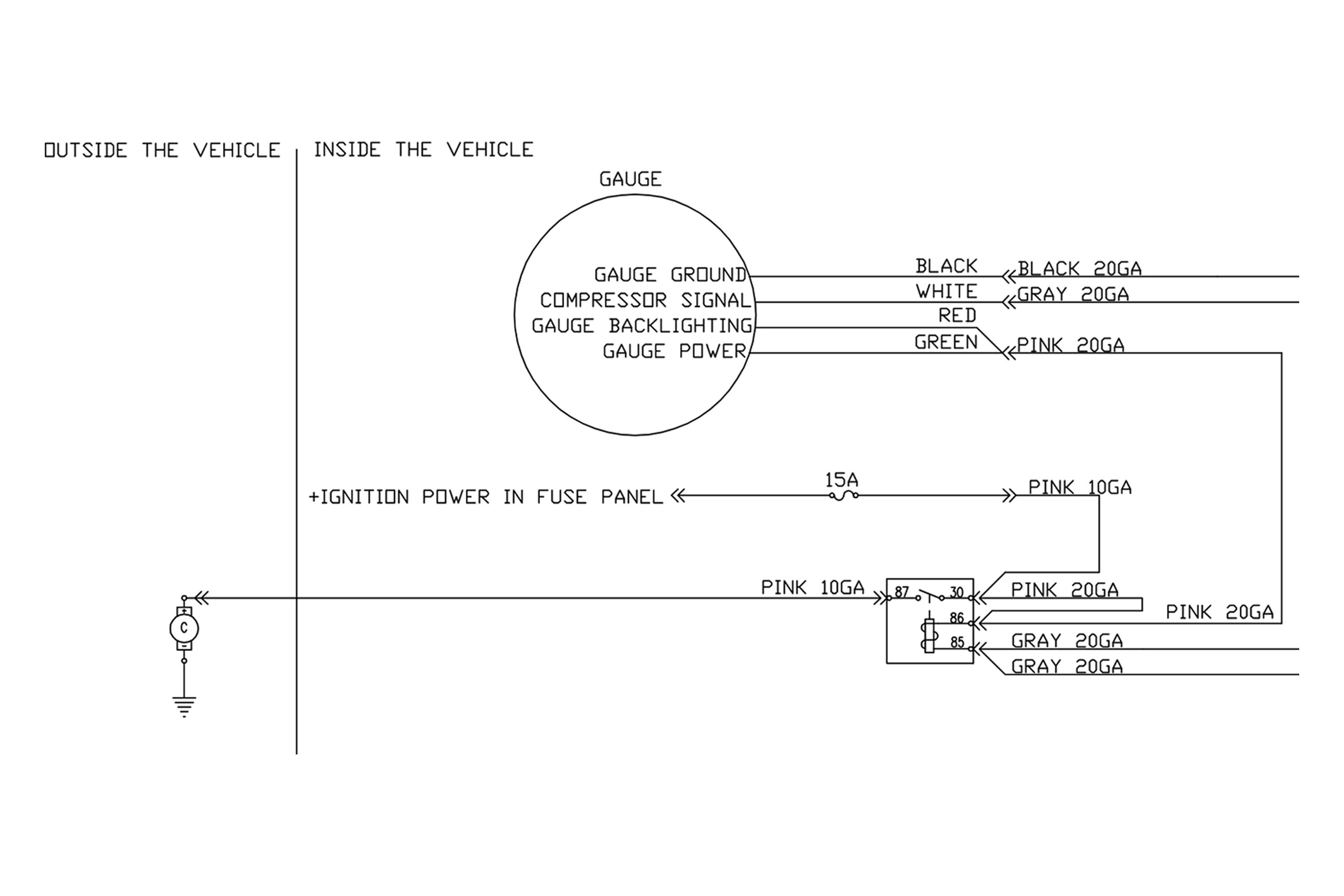 16092 Air Lift Wiring Diagram Diagrams Trailer Axle For Two Diy 2 Post Compressor