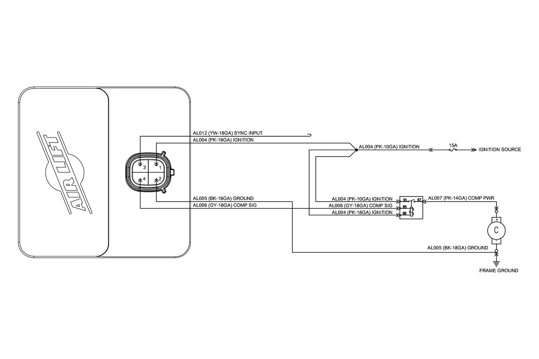 Air Lift® 25870 - WirelessOne™ Wireless Compressor System on