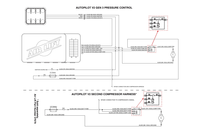 air lift® 27673 - autopilot v2™ digital ams air lift controller wiring diagram #15