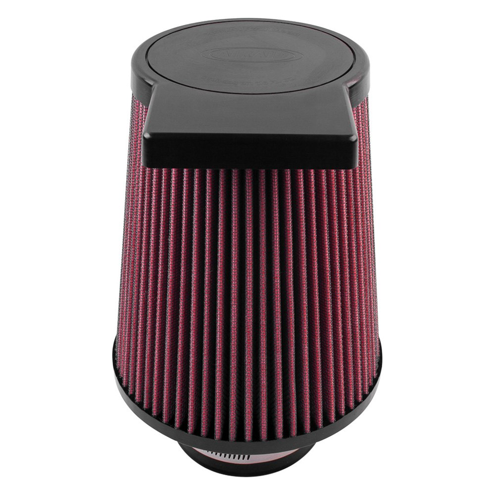 Round Air Compressor Filters : Airaid synthaflow round tapered air filter