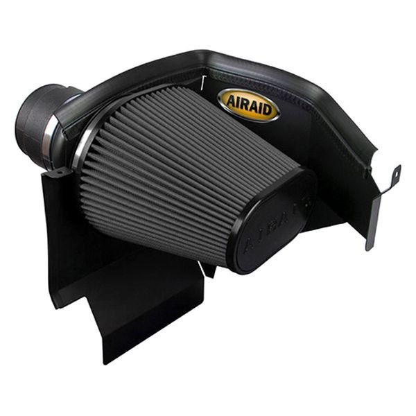Air Dam Intake System with Black SynthaMax Air Filter and Intake Tube
