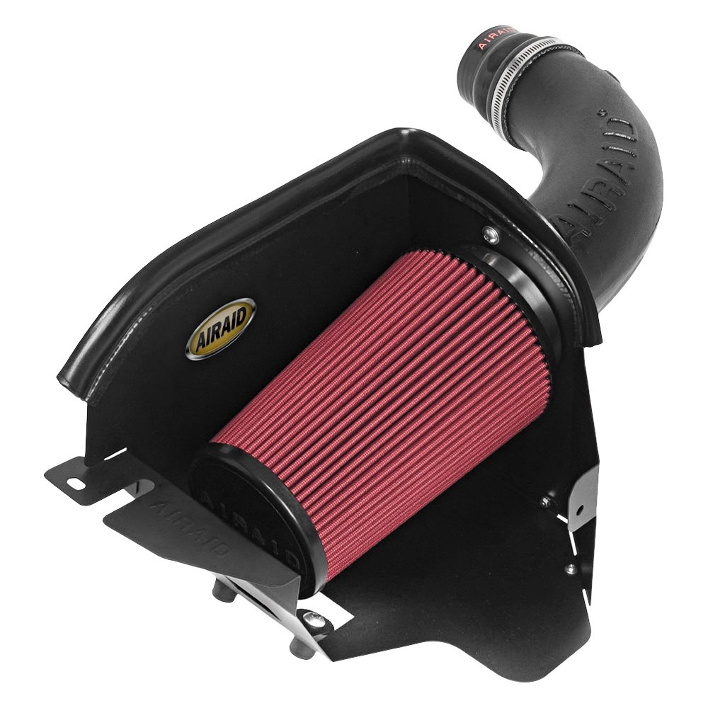 airaid 311 208 dam high density polyethylene black cold air intake system with synthamax red. Black Bedroom Furniture Sets. Home Design Ideas
