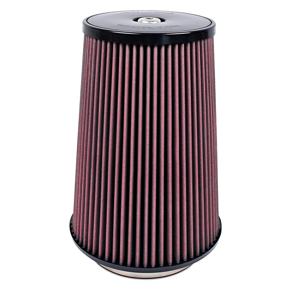 Round Air Compressor Filters : Airaid synthamax round tapered air filter