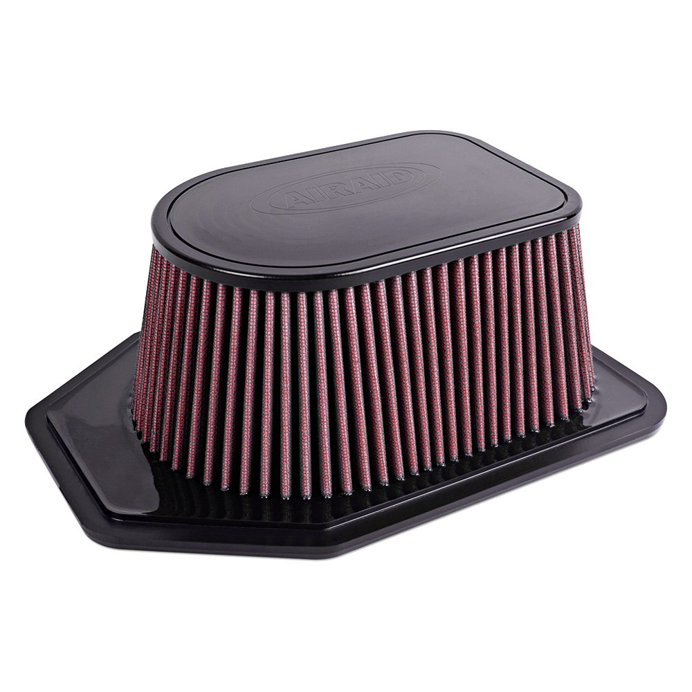 Jeep Air Cleaner : Airaid jeep wrangler l synthamax unique red
