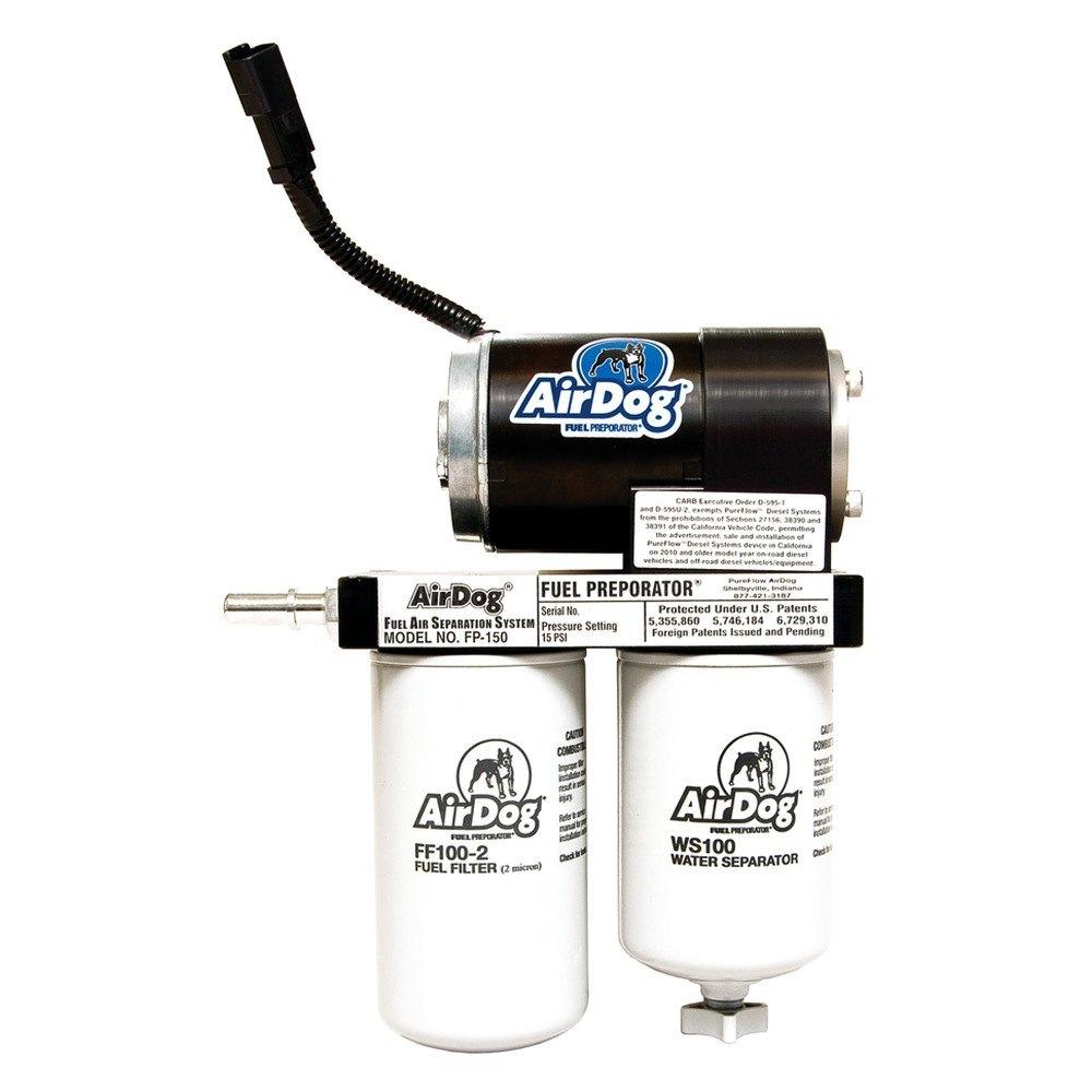 Pureflow Airdog Dodge Ram 59l 2004 Fuel Air Separation System Diesel Filter Location