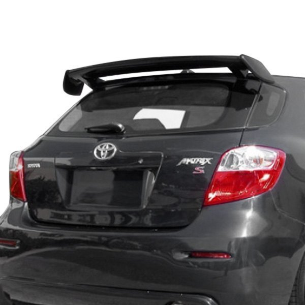 Details About For Toyota Matrix 09 13 Diablo Style Fiberglass Rear Window Spoiler Unpainted