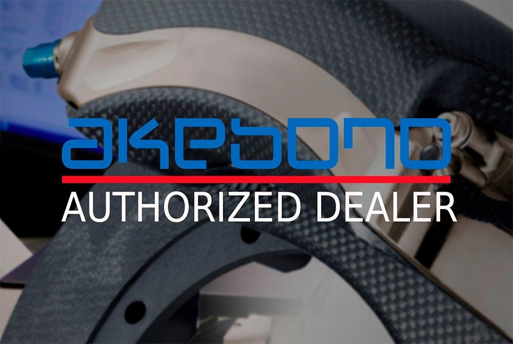 Akebono® - Pro-ACT™ Ultra-Premium Ceramic Brake Pads