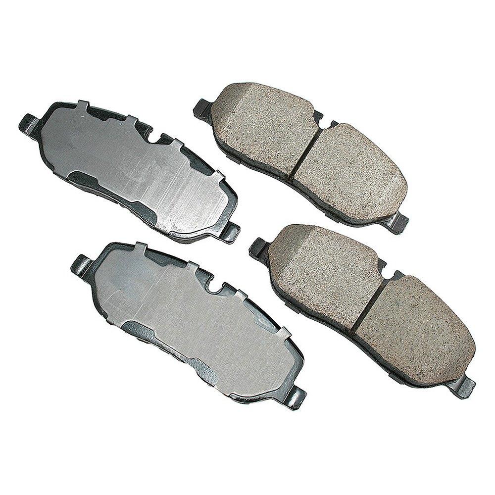 Land Rover Rear Brake Rotor Disc Set Lr3 Lr4 Range Sport: For Land Rover LR3 05-09 EURO Ultra-Premium Ceramic Front