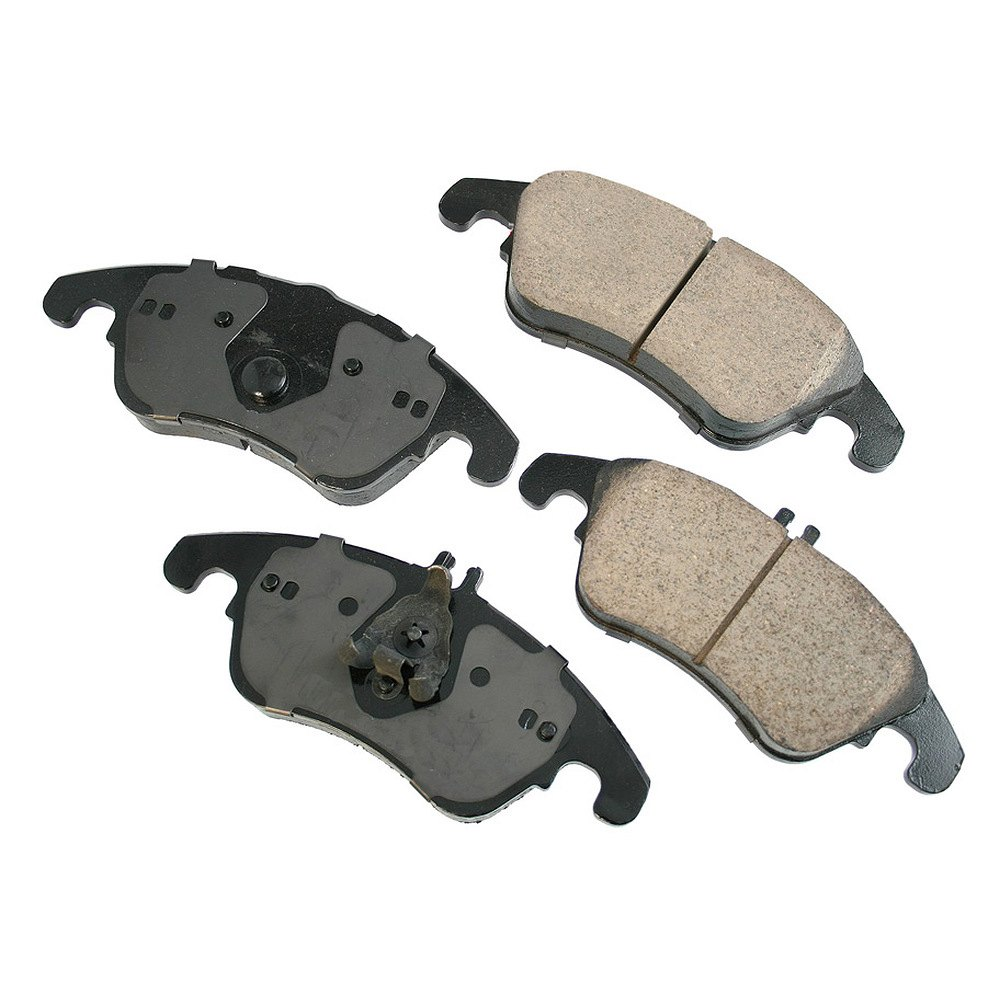 Disc Brake Pad Set-Euro Ultra Premium Ceramic Pads Front Akebono EUR918