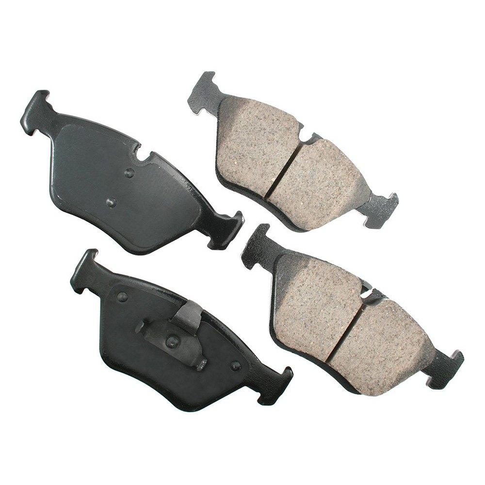 Akebono 174 Bmw Z3 2002 Euro Ultra Premium Ceramic Brake Pads