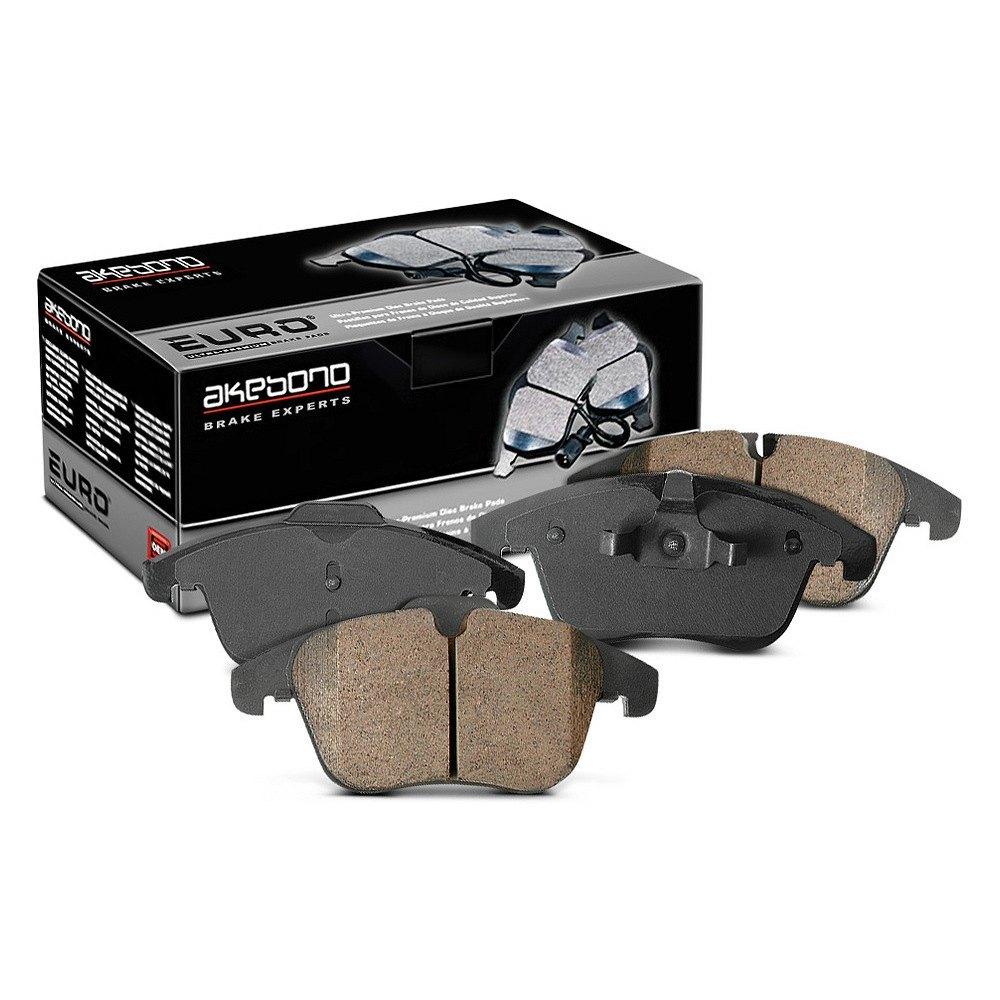 Akebono 174 Euro Ultra Premium Ceramic Brake Pads
