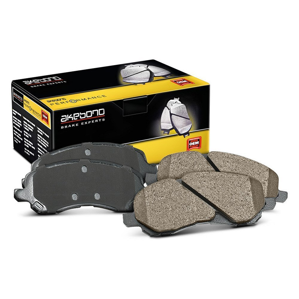 Akebono 174 Performance Ultra Premium Ceramic Brake Pads