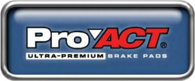 Pro-ACT™ Ultra-Premium Ceramic Brake Pads