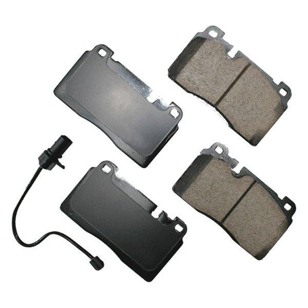 Akebono EUR1546 Ultra premium Brake pad Set
