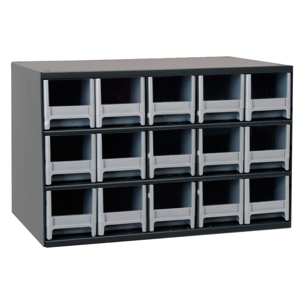 Akro mils 19715 15 drawer modular cabinet for Prefabricated cupboards