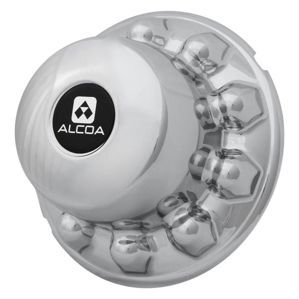 Alcoa 174 100450 Chrome Axle Hub Nut Cover Kit