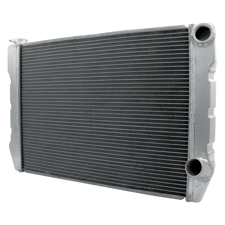 "Allstar Performance 30033 19/""x24/"" Dual Pass Radiator -16 or 20AN Fittings"