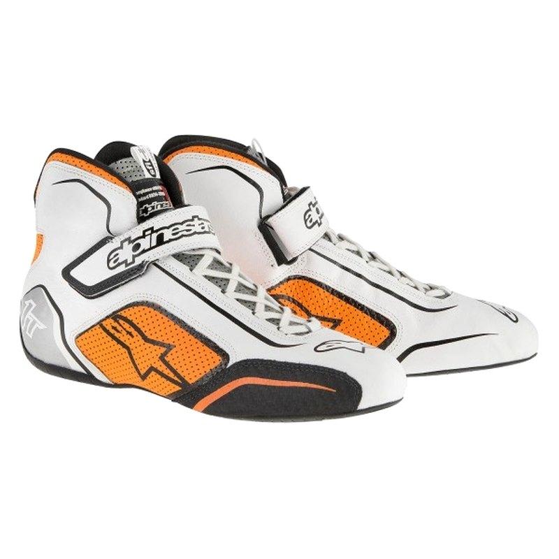 bf13ea008c2 Alpinestars® - Tech 1-T 9 White Fluorescent Orange Shoes