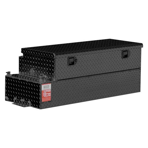 Fuel Tank Tool Box : Aluminum tank industries combo auxiliary fuel transfer