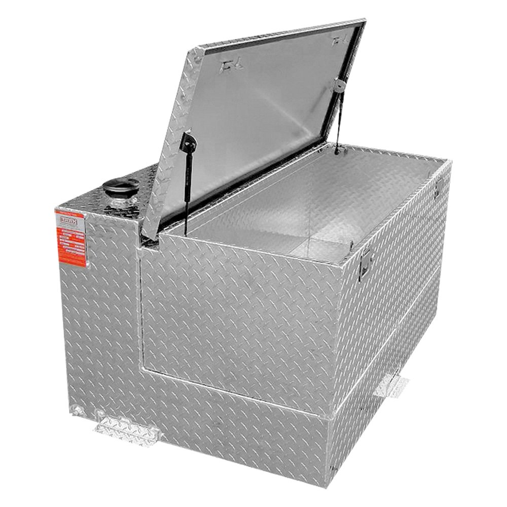 Tool Box Fuel Tank Combo : Aluminum tank industries ttl cb combo l shaped fuel