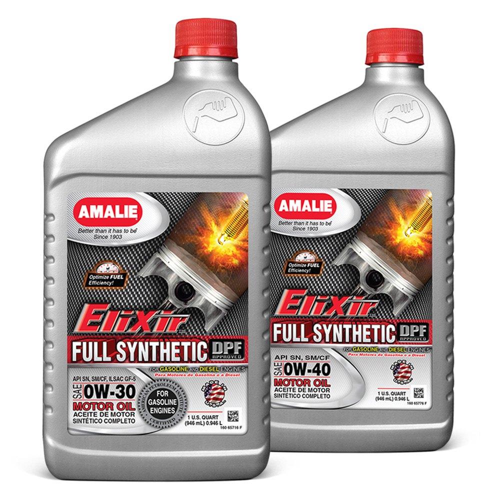 Amalie Oil Elixir Full Synthetic Oil