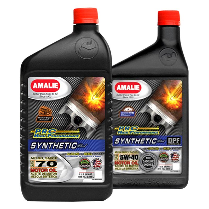 Amalie Oil Pro Hp Synthetic Blend Oil
