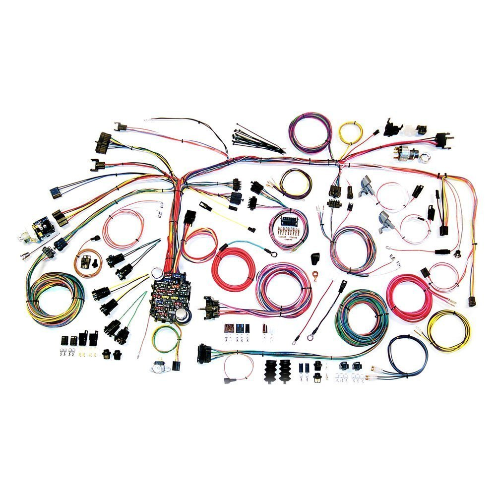 Automotive Wiring Harness Headlight American Autowire 500661 Classic Update Complete Kit