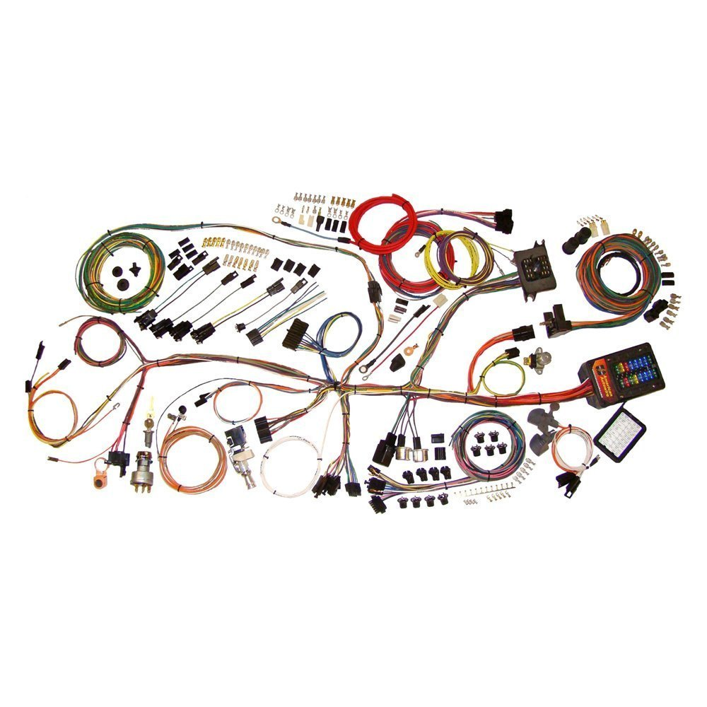 American Autowire 510140 Headlight Wiring Harness Auto Wire Classic Update Complete Kit