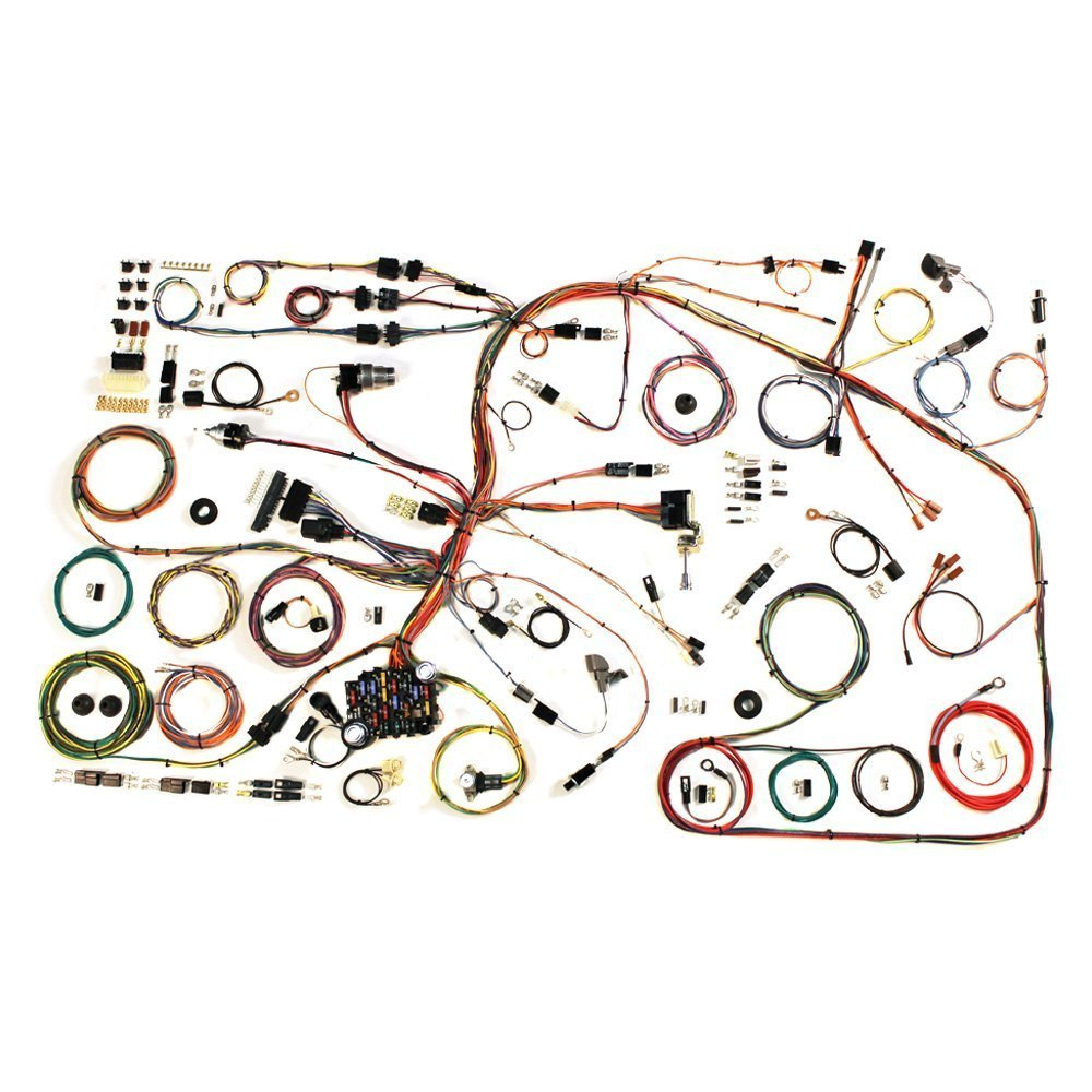 American Autowire 510368 Headlight Wiring Harness Auto Wire Kits Classic Update Complete Kit