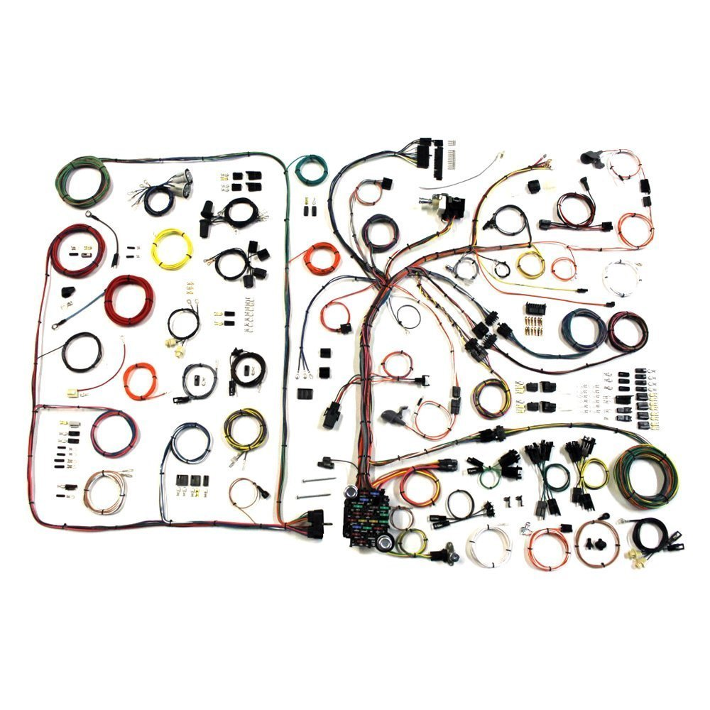 American Autowire 510540 Headlight Wiring Harness Auto Wire Classic Update Complete Kit