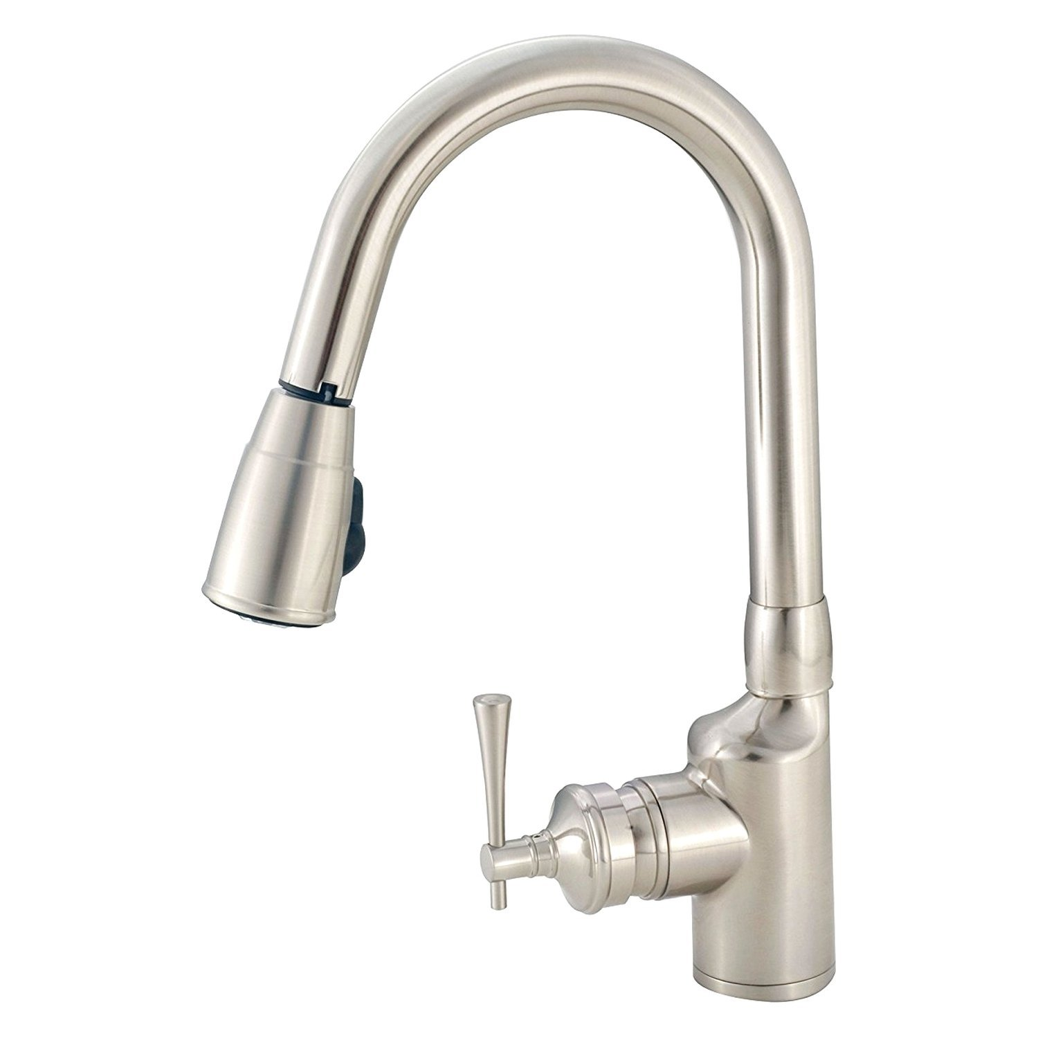 American Brass Pull Down Kitchen Faucet