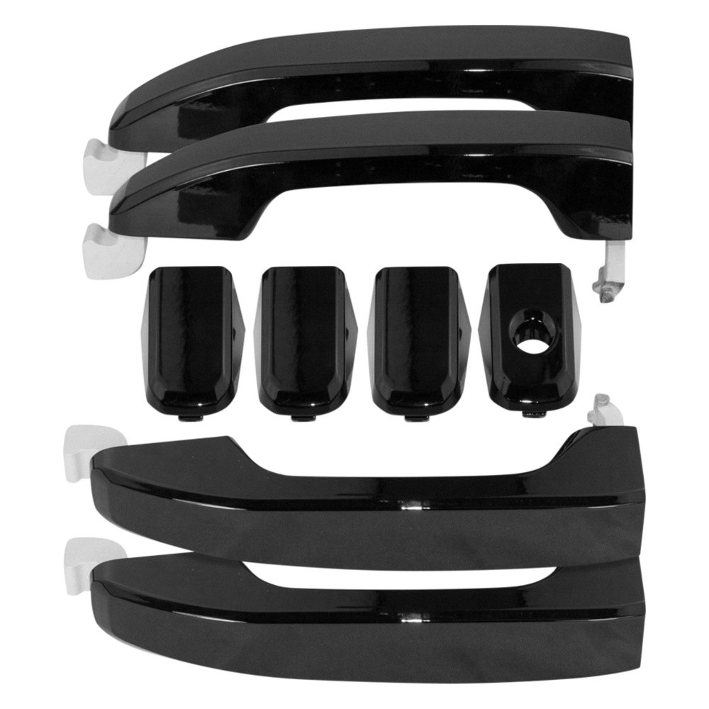 American Brother Designs ABD 1403GBA Gloss Black OEM Paint Front And Rear